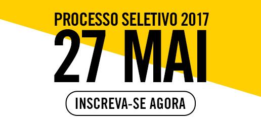 Inscreva-se Processo Seletivo 27 de maio 2017